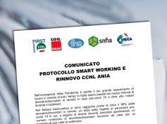 Protocollo smart working e rinnovo contratto nazionale Ania