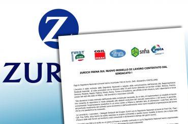 Zurich sospende piano riorganizzazione e chiusura sedi italiane, First Cisl, grande successo del sindacato e dei lavoratori