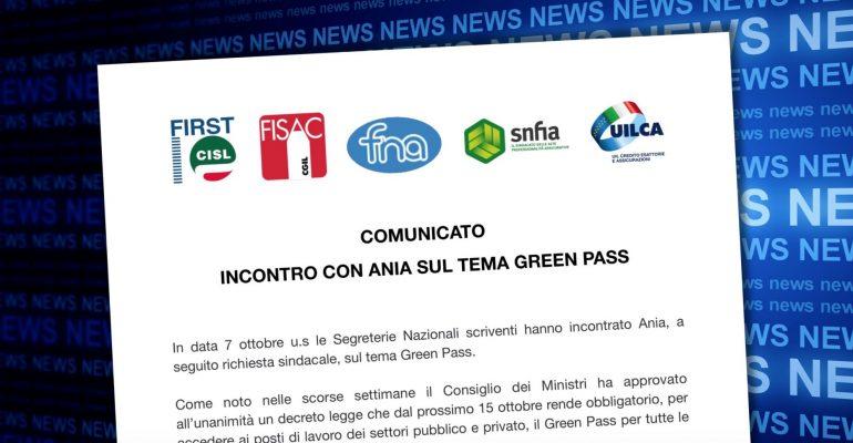 Incontro con Ania sul tema green pass