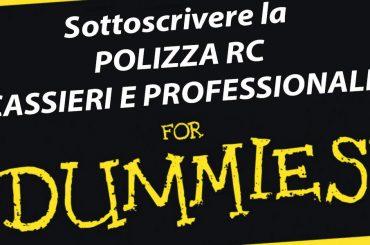 Come aderire alle polizze RC Professionali e Cassieri (for dummies!)