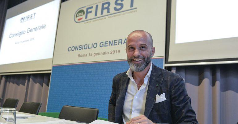 First Cisl Napoli e First Cisl Campania, indetti i due congressi alla presenza di Colombani durante il Consiglio Generale