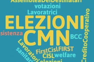 Elezioni CMN. Grazie per aver votato.
