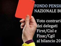 Fondo Pensione Nazionale. No al bilancio!