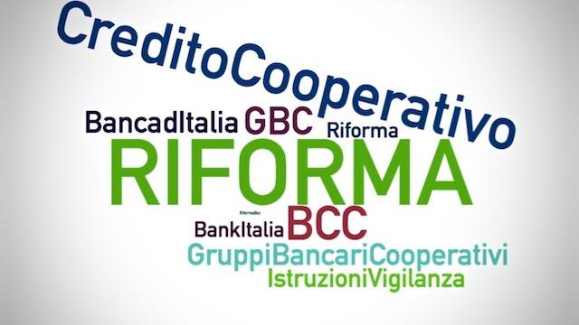 Riforma arrivate istruzioni vigilanza first credito for Banche di credito cooperativo
