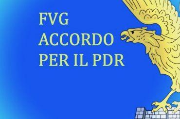 In FVG firmato l'accordo per il PdR.