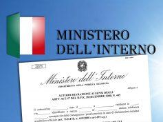 Ministero dell'Interno, l'autodichiarazione valida dal 4 maggio