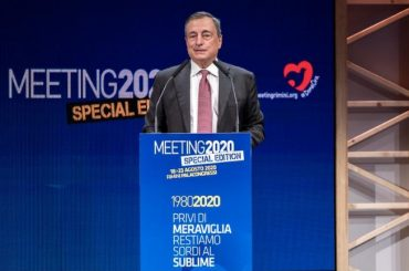 Mario Draghi al Meeting 2020, intervento integrale