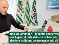 Bcc, Colombani, necessario rivedere la riforma coinvolgendo tutti gli stakeholder