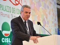 Luigi Sbarra eletto nuovo segretario generale della Cisl