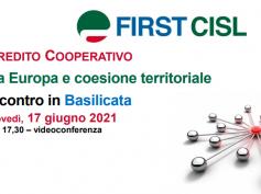 Credito cooperativo, tra Europa e coesione territoriale, la tavola rotonda First Cisl Basilicata