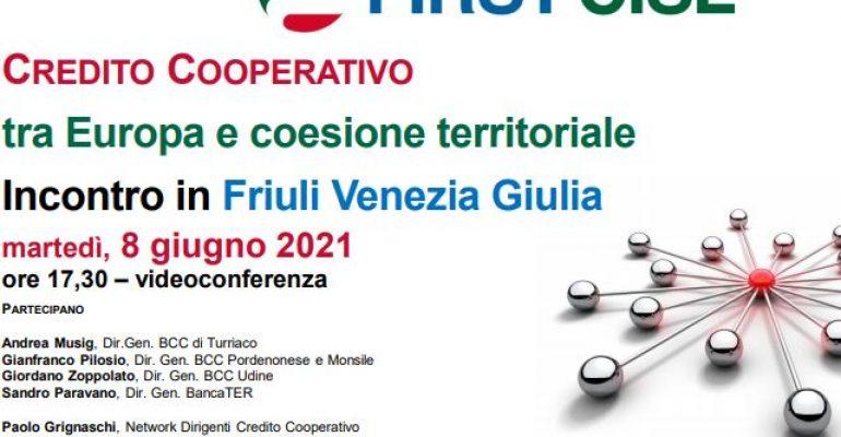 Credito cooperativo, tra Europa e coesione territoriale, la tavola rotonda First Cisl Friuli Venezia Giulia