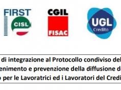 Covid-19, firmato verbale di integrazione al Protocollo 7 maggio 2020