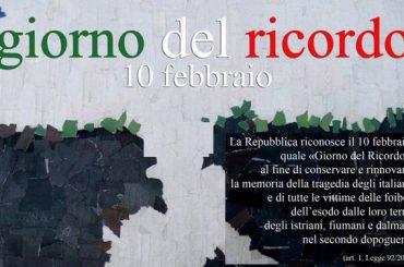 10 Febbraio: giornata del ricordo