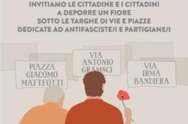 25 aprile 2021 – La Cisl Aderisce all'iniziativa 'Strade di liberazione' promossa dall'ANPI