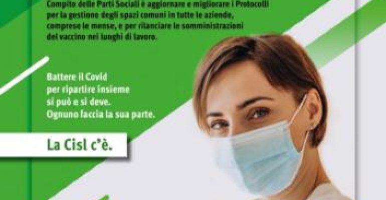 """Parte la Campagna Cisl sui vaccini: """"Il nostro impegno per protegger tutti"""""""