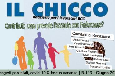 Il Chicco 113: congedi parentali, covid-19 e bonus vacanze