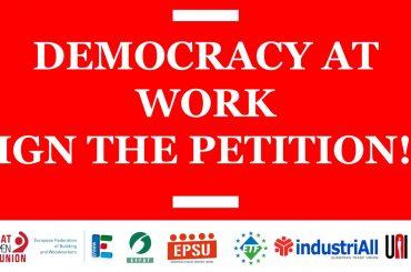 Settimana europea di mobilitazione per la democrazia nei luoghi di lavoro