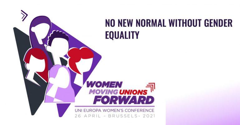 """Uni Europa women's conference, """"Donne che portano avanti i sindacati"""""""