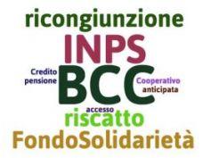 Inps, istruzioni per riscatti e ricongiunzioni pro esodi BCC