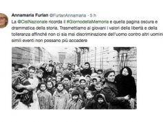 Giorno della Memoria, Furlan,trasmettiamo a giovani valori libertà tolleranza