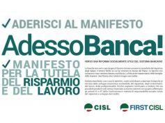 Paganessi, First Cisl Bergamo, AdessoBanca! per una riforma etica e socialmente utile