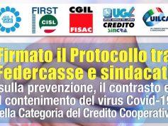 Protocollo Federcasse Sindacati per la salute di tutte le persone