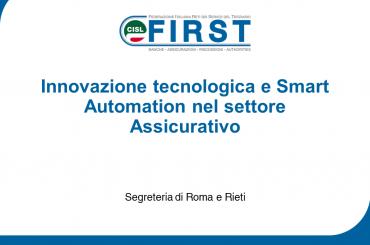 Seminario su Innovazione tecnologica e Smart Automation nel settore Assicurativo