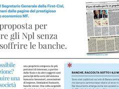 Npl, la proposta di Giulio Romani rilanciata dal quotidiano di San Marino
