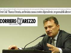 Corriere di Arezzo, archiviata causa contro lavoratore Banca Etruria