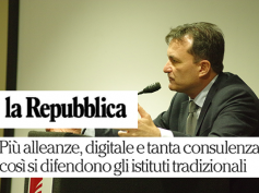 La Repubblica, Giulio Romani parla di nuove frontiere della consulenza