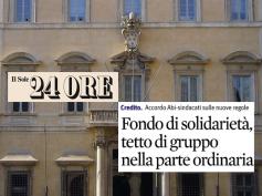 Il Sole 24 Ore, Fondo di solidarietà verso nuove regole