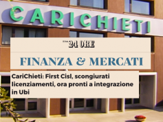 Finanza e Mercati del Sole 24 Ore sull'accordo in Nuova CariChieti