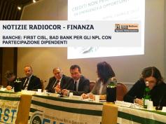 Il Sole 24 Ore Radiocor sulla proposta di First Cisl sulla gestione degli npl