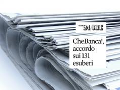 Sul Sole 24 Ore la soddisfazione di First Cisl per l'accordo in CheBanca!