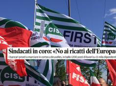 Popolari venete, sulla stampa il no dei sindacati a ulteriori sacrifici