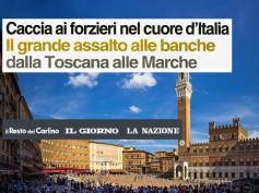 La crisi delle banche dell'Italia centrale sulla stampa, con i dati First Cisl