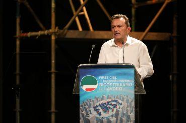 Ricostruiamo il lavoro, Romani e Furlan al congresso di First Cisl