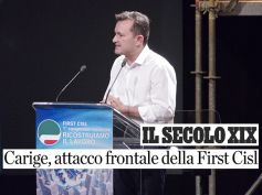 """Secolo XIX, """"Carige, attacco frontale della First Cisl"""""""