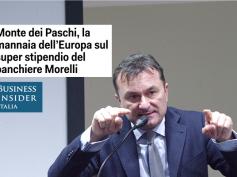 Su Business Insider il parere di Giulio Romani sull'accordo Italia-Ue su Mps