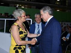"""Congresso Cisl, Tajani, """"immigrazione, un problema di tutta l'Europa"""""""