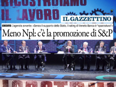 Npl, apprezzamento della Vigilanza Bankitalia per la proposta di First Cisl