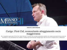 Caso Carige sconcertante, Milano Finanza rilancia l'opinione di Romani