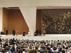 """Papa Francesco ai delegati Cisl, """"un nuovo patto sociale per il lavoro"""""""