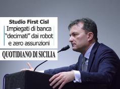 L'occupazione bancaria, così Romani sul Quotidiano di Sicilia