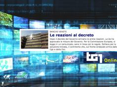 """Banche venete, su Tg1 Online il """"sollievo"""" Cisl per la soluzione alla crisi"""