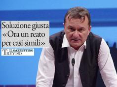 Il Gazzettino di Treviso sul reato di disastro bancario chiesto da Romani