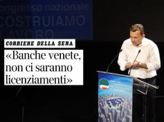 """Banche Venete, Giulio Romani sul Corriere della Sera, """"attenzione a mobilità"""""""