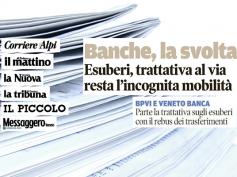 Giulio Romani sui giornali del Nord Est, c'è un pericolo mobilità in Intesa