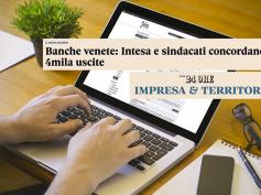 """First Cisl dopo l'accordo con Intesa per le venete, """"ora faccia la politica"""""""