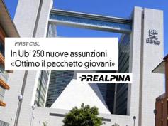 First Cisl sulla Prealpina, un risultato importante le assunzioni in Ubi